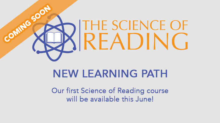 Science of Reading coming this June