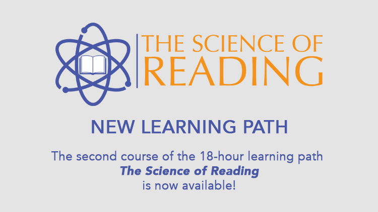 The second Science of Reading course is now available